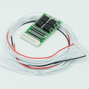 simple bms, protects battery and smooths out voltage in individual cells   protection for over and undervoltage, and if temp sensors are also  connected to